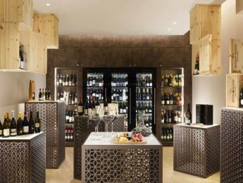 Borgobrufa SPA Resort - cantina con vini pregiati