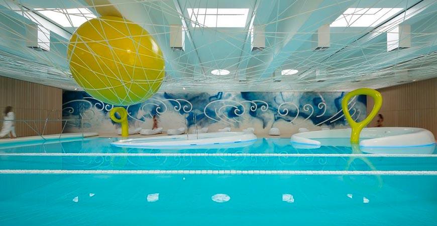 Cappuccini Wellness & SPA sala delle piscine