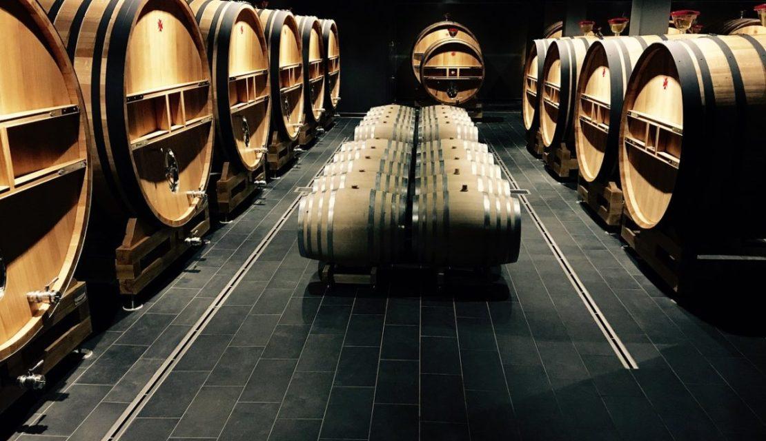 cantine Aperte - cantina con botti di vino