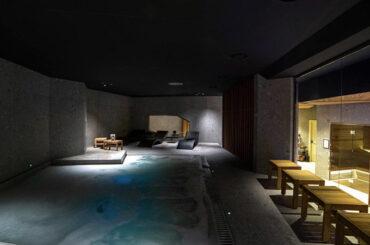 Piscina interna SPA Grand Hotel Elite di Cascia e Palazzo Franceschini