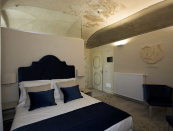 Palazzo Franceschini Cascia - camera co affreschi antichi