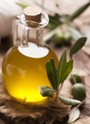 Bottiglia olio d'oliva - pacchetto benessere all'oro verde