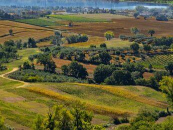 Vista panoramica del Relais Villa Monte Solare