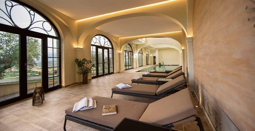 SPA panoramica Villa Monte Solare