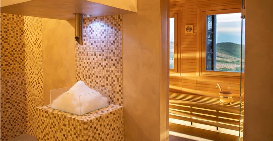 Sauna SPA Villa Monte Solare
