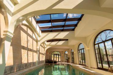 SPA con vista panoramica Relais Villa Monte Solare