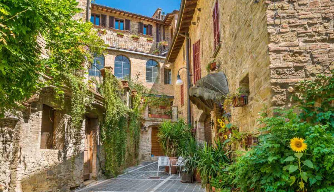 Vicoli di Bettona - Giornate FAI d'Autunno 2020 Umbria