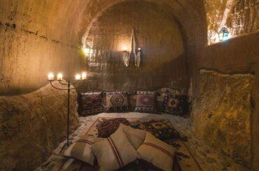 L'area relax spiritual experience heat dell'Hotel Eremito
