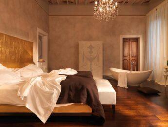Camera elegante dell'Hotel Palazzo Bontadosi