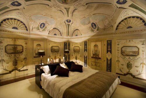 Suite con affreschi dell'Hotel Palazzo Bontadosi