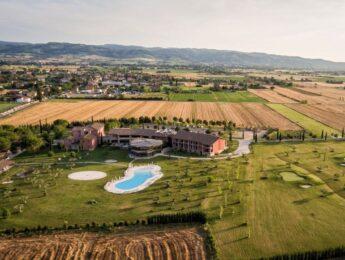 Vista Panoramica di Valle di Assisi Hotel SPA & Resort